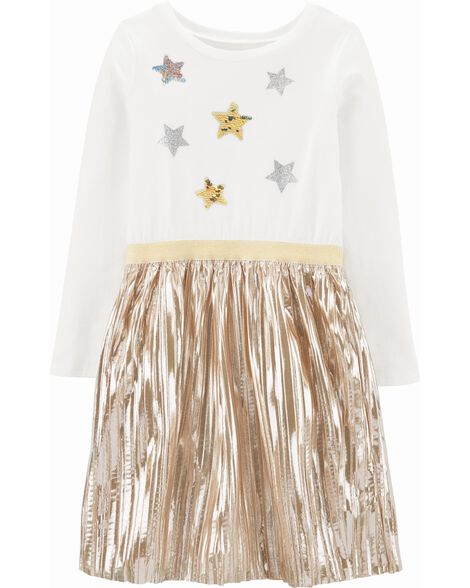 Star Holiday Skirt Dress