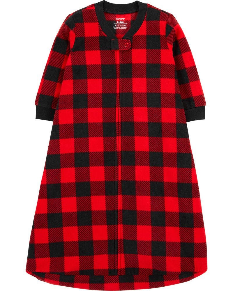 Buffalo Check Fleece Sleep Bag, , hi-res
