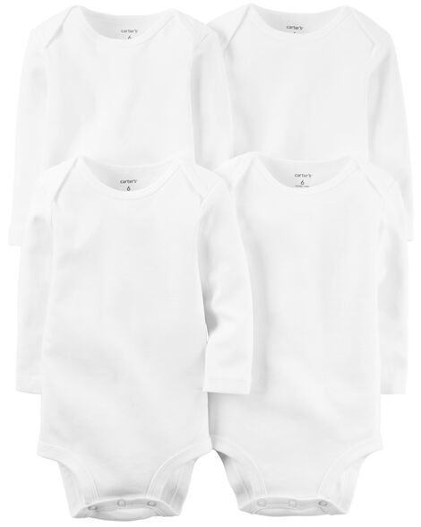 4-Pack Long-Sleeve Original Bodysuits