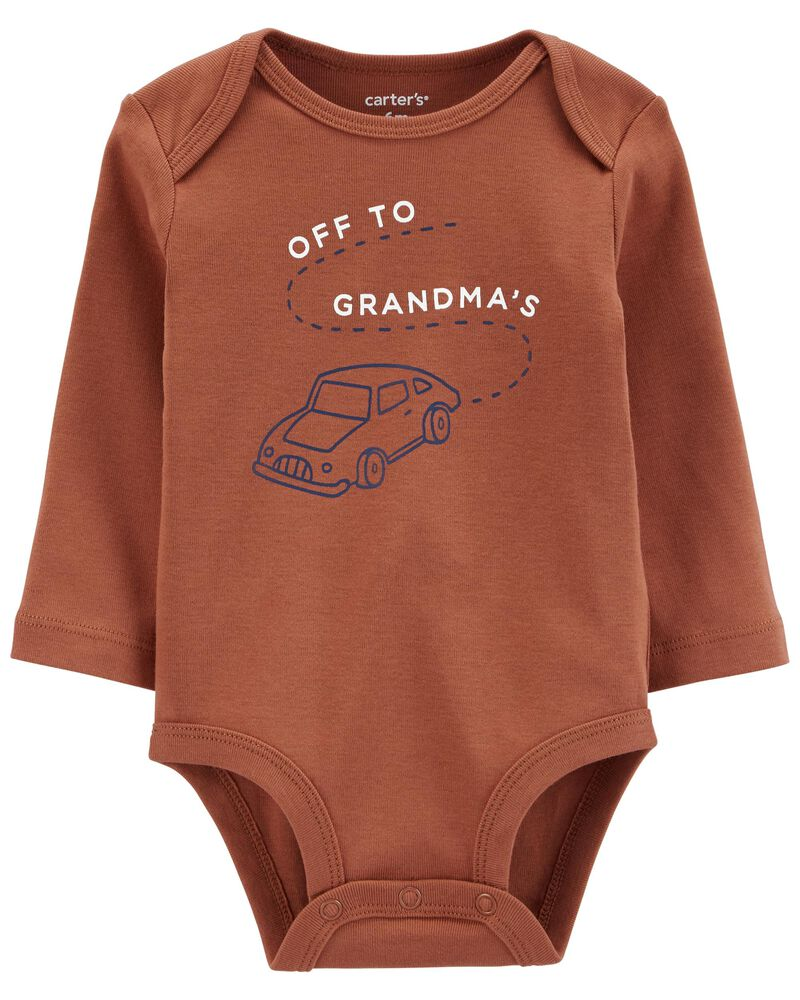 Off To Grandma's Original Bodysuit, , hi-res