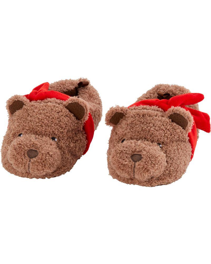 Bear Slippers, , hi-res