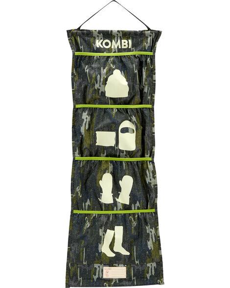 Rangement pour accessoires d'hiver camouflage