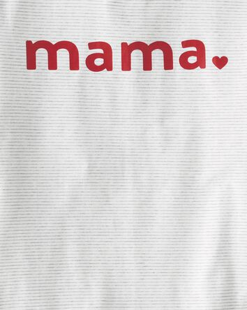 Organic Cotton Mama Tee