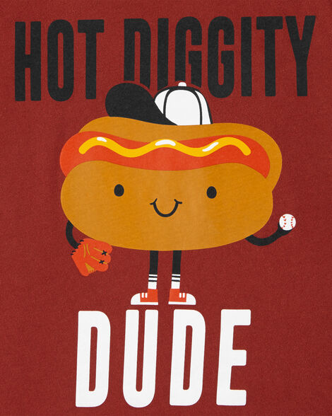 Hot Dog Jersey Tee