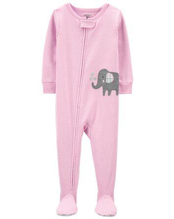Pyjama 1 pièce avec pieds en coton...