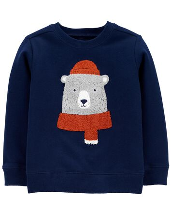 Bear Fleece Pullover