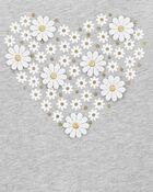 Daisy Heart Top, , hi-res