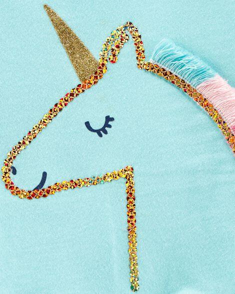 Unicorn Peplum Bodysuit