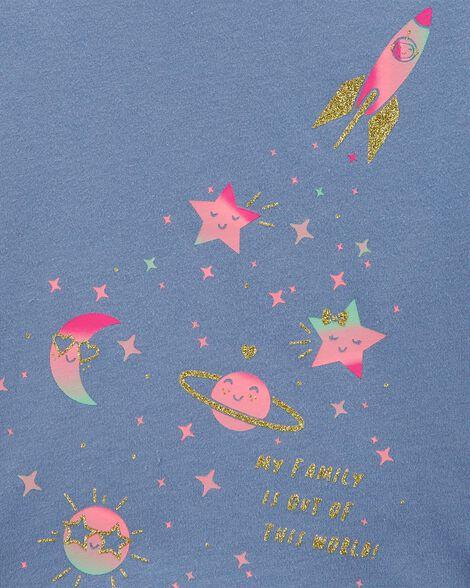 Glitter Space Jersey Tee