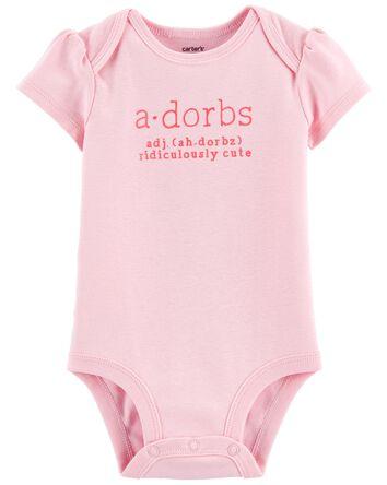 Adorbs Collectible Bodysuit