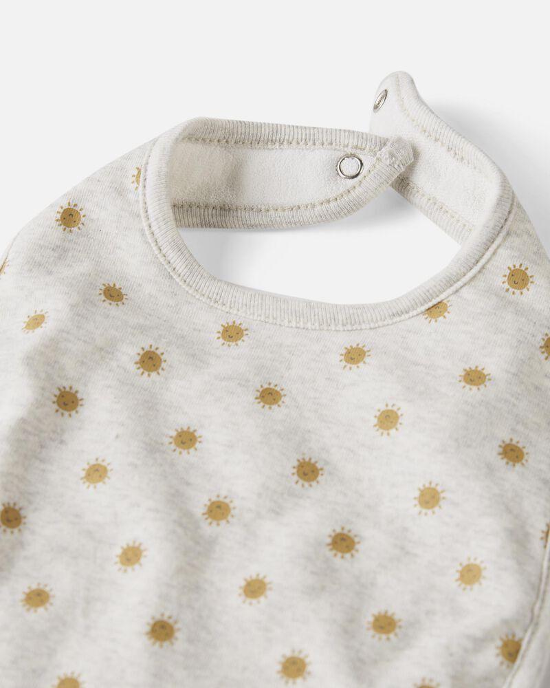 3-Pack Organic Cotton Bibs, , hi-res