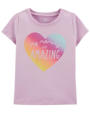Mommy Is Amazing Jersey Tee