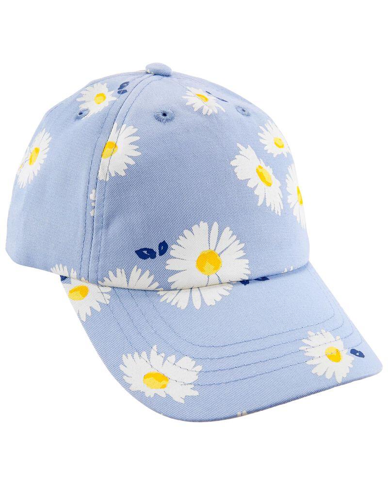 Floral Baseball Cap, , hi-res
