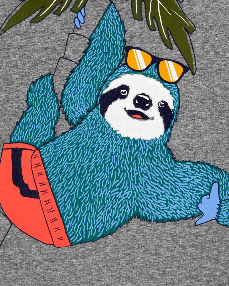 Sloth Snow Yarn Jersey Tee, , hi-res