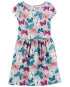 Butterfly Jersey Dress, , hi-res