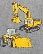 Construction Action Graphic Slub Jersey Tee, , hi-res
