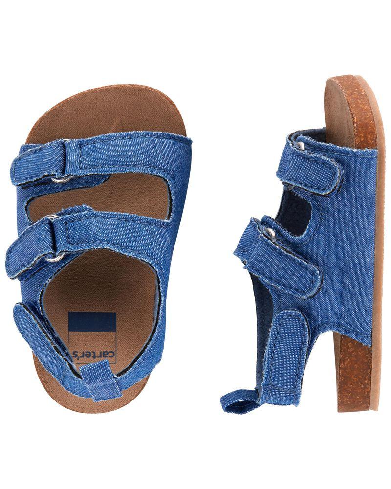 Cork Sandal Baby Shoes, , hi-res
