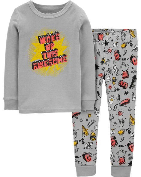 Pyjama 2 pièces ajusté Awesome