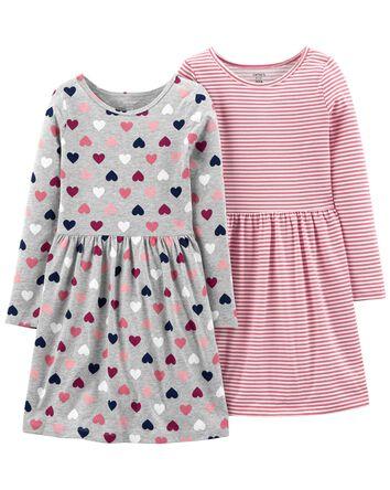 2-Pack Jersey Dresses