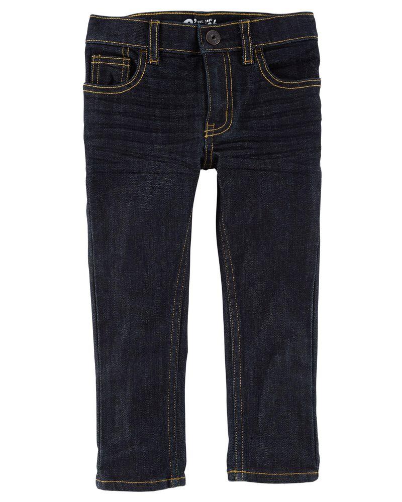 Jeans fuseau coupe régulière - rinçage véritable, , hi-res
