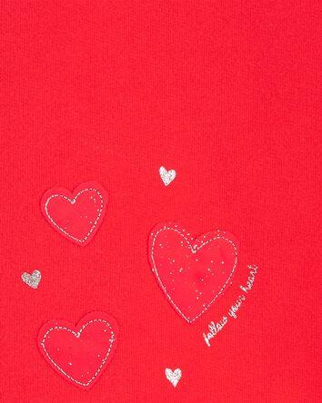 Haut molletonné cœur