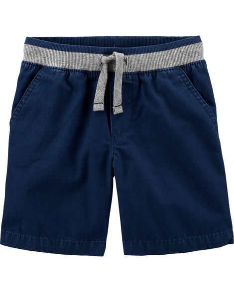 Easy Pull-On Dock Shorts