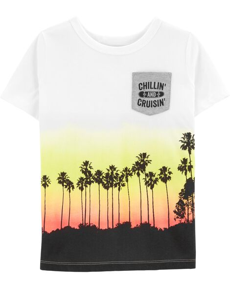 Chillin and Cruisin Pocket Tee