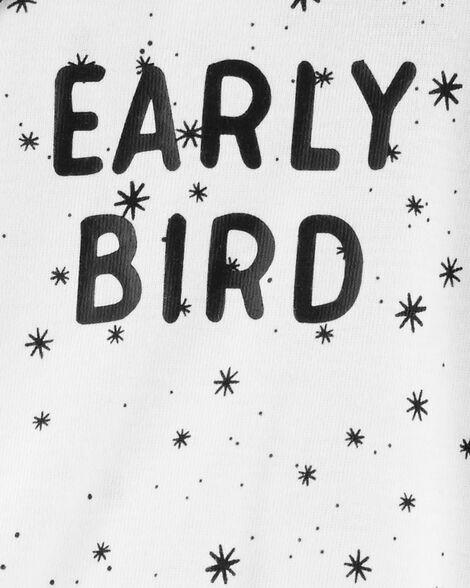 Early Bird Side-Snap Cotton Sleep & Play