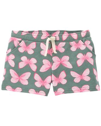 Pull-On Butterfly Shorts