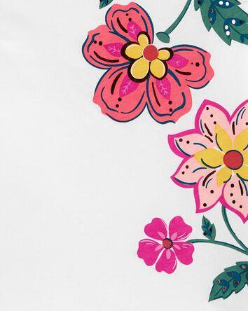 Débardeur en jersey avec fleurs