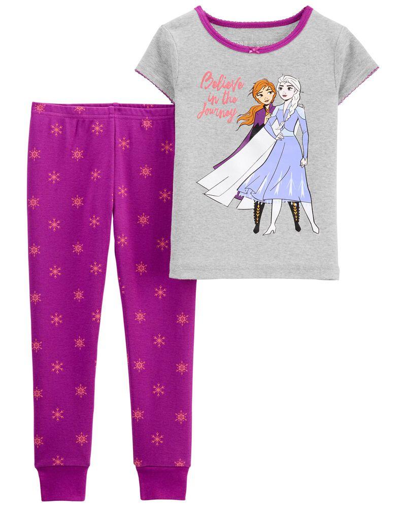 Pyjama 2 pièces en coton ajusté, , hi-res