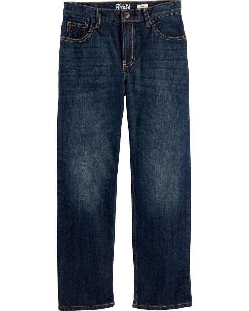 Jeans classique - délavage bleu véritable, , hi-res