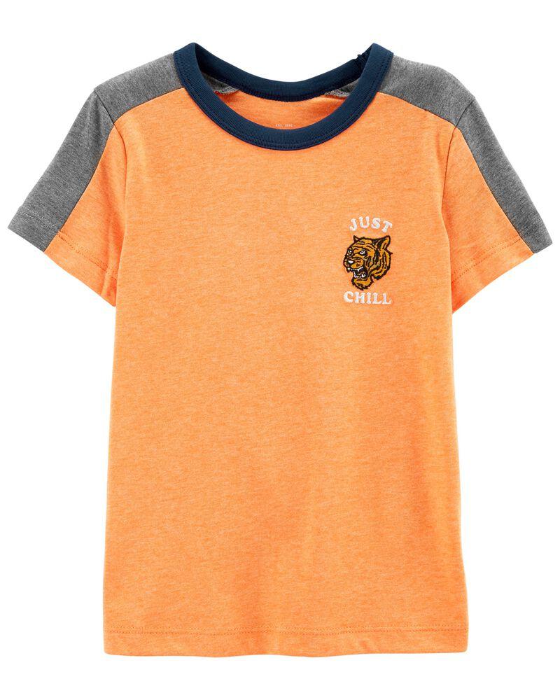 T-shirt ras du cou, , hi-res