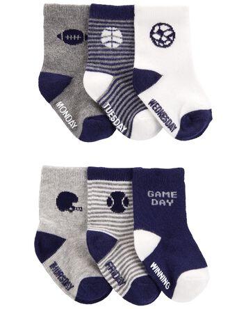 6-Pack Socks