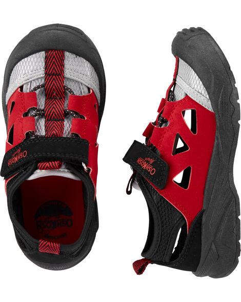 Sandales à bout muflé Oshkosh rouges