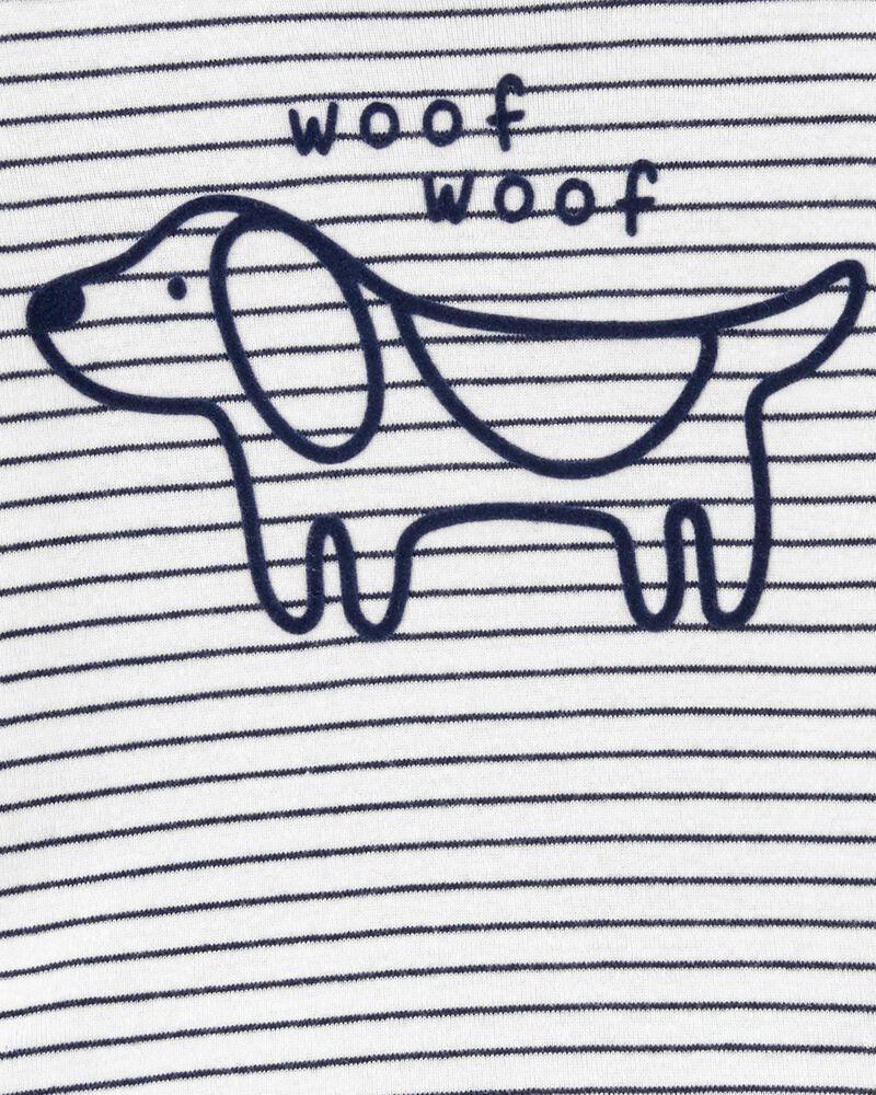 3-Piece Dog Little Short Set, , hi-res