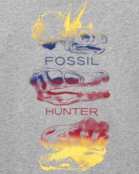 Dinosaur Skull Jersey Tee