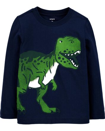 T-shirt en jersey à dinosaure