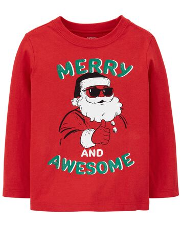 T-shirt en jersey à Père Noël