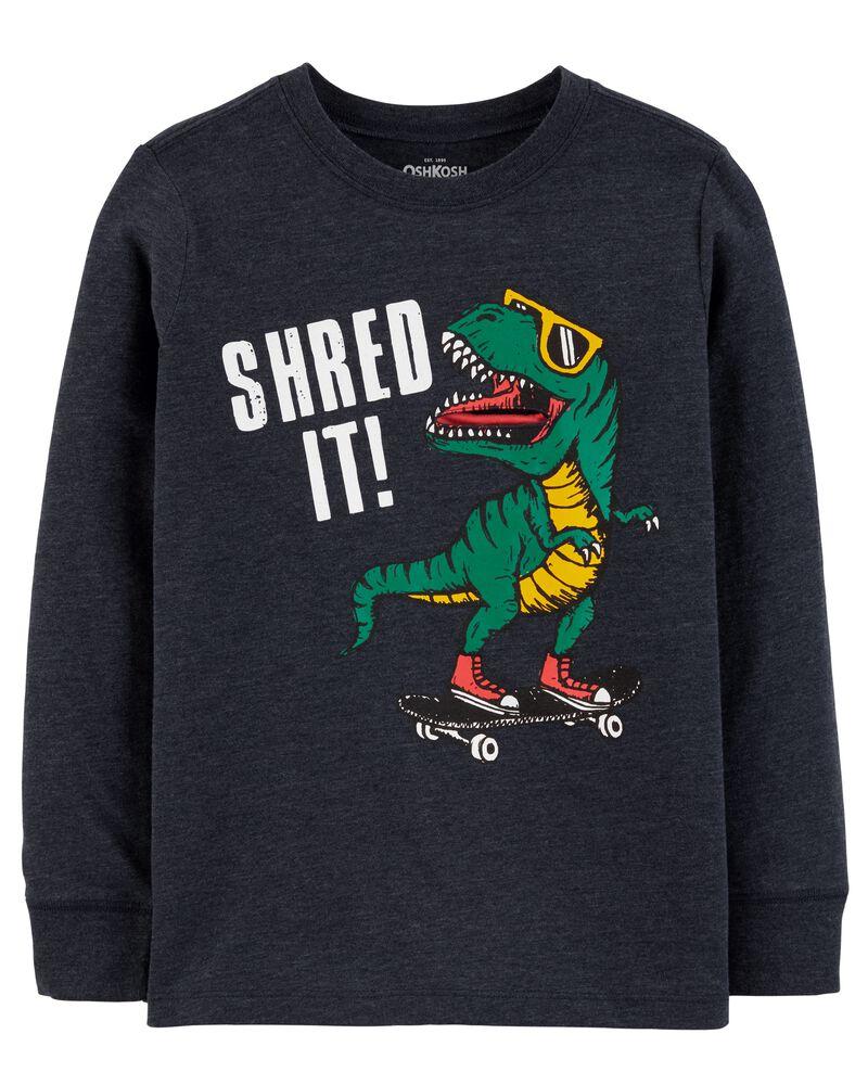 T-shirt à dinosaure, , hi-res