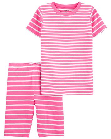 2-Piece Striped 100% Snug Fit Cotto...
