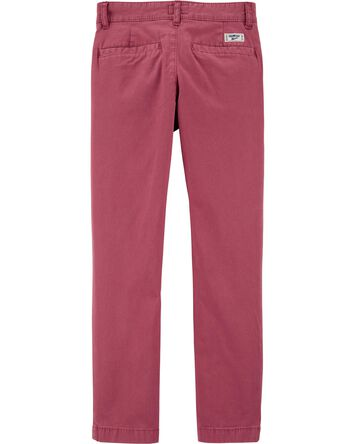 Pantalon en coutil extensible