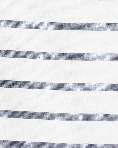 Striped Pocket Romper
