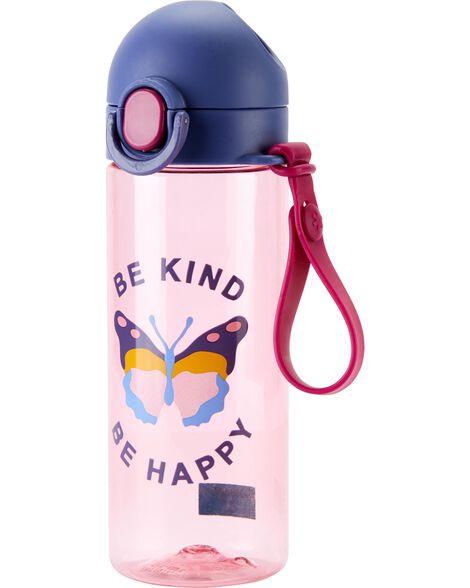 Bouteille d'eau papillon Be Kind