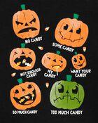 T-shirt en jersey de style superposé Halloween, , hi-res