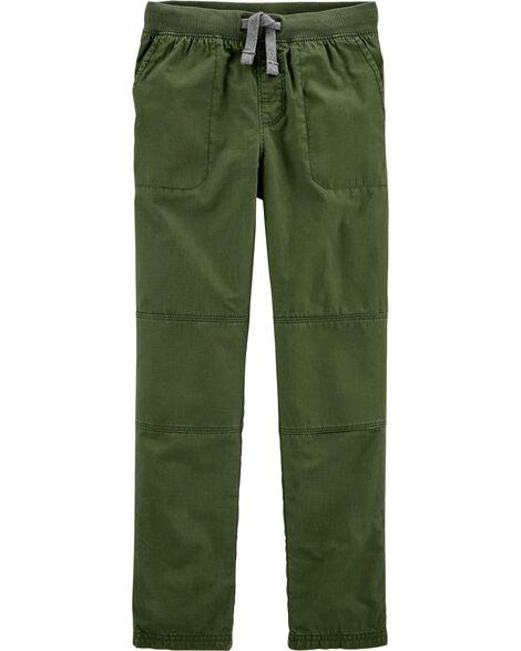 Pantalon à enfiler avec genoux renforcés