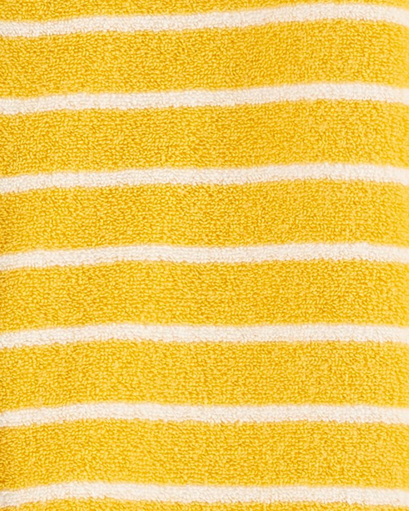 Grenouillère en tissu bouclé à boutons-pression avec motif construction, , hi-res