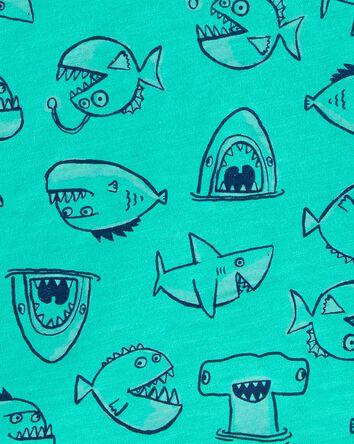 Fish Pocket Slub Tee