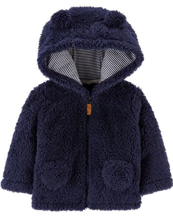 Hooded Sherpa Jacket