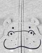3-Piece Hippo Little Vest Set, , hi-res
